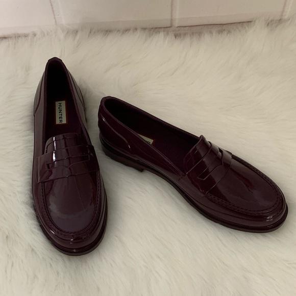 baea7966c0c Hunter Shoes - 🆕Hunter Loafer Waterproof Rubber Rain Shoe